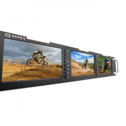"Avonic MN500 Triple 5"" LCD Monitor Rack Mount"