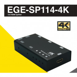 GERATECH 1X4 HDMI SPLITTER EGE-SP114-4K
